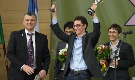 В столице Югры торжественно завершился Гран-при по шахматам